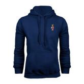 Navy Fleece Hood-Coat of Arms
