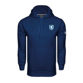 Under Armour Navy Performance Sweats Team Hoodie-Official Shield