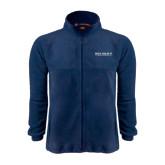 Fleece Full Zip Navy Jacket-Beta Theta Pi