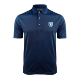 Navy Dry Mesh Polo-Official Shield