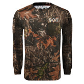 Realtree Camo Long Sleeve T Shirt w/Pocket-Beta Theta Pi Greek Letters