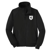 Black Charger Jacket-Official Shield