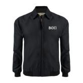 Black Players Jacket-Beta Theta Pi Greek Letters