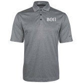 Nike Golf Dri Fit Charcoal Heather Polo-Beta Theta Pi Greek Letters