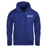Royal Charger Jacket-Beta Theta Pi Greek Letters