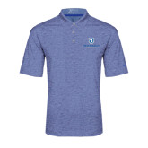Nike Golf Dri Fit Royal Heather Polo-Official Logo