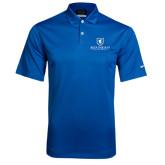 Nike Dri Fit Royal Pebble Texture Sport Shirt-Official Logo