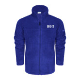 Columbia Full Zip Royal Fleece Jacket-Beta Theta Pi Greek Letters