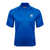 Royal Textured Saddle Shoulder Polo-Official Shield