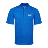 Royal Mini Stripe Polo-Beta Theta Pi Greek Letters