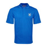Royal Mini Stripe Polo-Official Shield