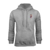 Grey Fleece Hood-Coat of Arms