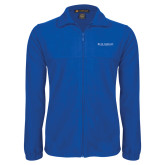 Fleece Full Zip Royal Jacket-Beta Theta Pi