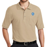 Stone Polo w/ Pocket-Official Shield