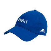 Adidas Royal Slouch Unstructured Low Profile Hat-Beta Theta Pi Greek Letters