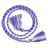 Royal/White Graduation Honor Cord-
