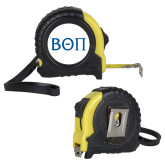 Journeyman Locking 10 Ft. Yellow Tape Measure-Beta Theta Pi Navy Greek Letters