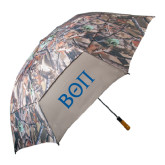58 Inch Hunt Valley Camo Umbrella-Beta Theta Pi Greek Letters
