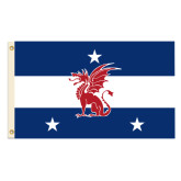 5 ft x 8 ft Double Sided Beta Flag-