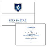 Founding Fathers Chapter/Colony Version Tri Fold Bid Card w/Match A6 Personalized Envelope-