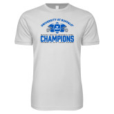Next Level SoftStyle White T Shirt-Bahamas Bowl Champions - Football