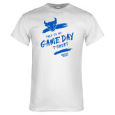 White T Shirt-This Is My Game Day T-Shirt