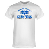 White T Shirt-Bahamas Bowl Champions - Football