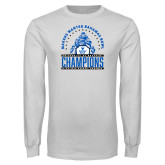 White Long Sleeve T Shirt-Bahamas Bowl Champions - Players