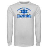 White Long Sleeve T Shirt-Bahamas Bowl Champions - Football