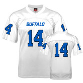 UB  Replica White Adult Football Jersey-#14