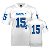 UB  Replica White Adult Football Jersey-#15