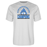 Performance White Tee-Bahamas Bowl Champions - Players
