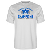 Performance White Tee-Bahamas Bowl Champions - Football