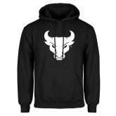 Black Fleece Hoodie-Bull Spirit Mark