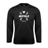 Syntrel Performance Black Longsleeve Shirt-Buffalo Baseball w/ Seams