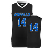 Replica Black Adult Basketball Jersey-#14