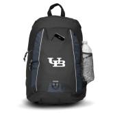 Impulse Black Backpack-Interlocking UB