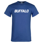 Royal T Shirt-Buffalo Word Mark