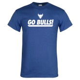 Royal T Shirt-Go Bulls
