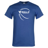 Royal T Shirt-Bufallo Basketball w/ Contour Lines