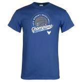 Royal T Shirt-2019 Womens Basketball Champions