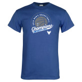 Royal T Shirt-2019 Mens Basketball Champions