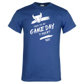 Royal T Shirt-This Is My Game Day T-Shirt
