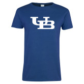 Ladies Royal T Shirt-Interlocking UB