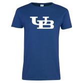 Ladies Royal T Shirt-Interlocking UB
