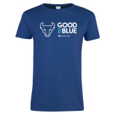 Ladies Royal T Shirt-Good To Be Blue