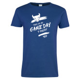 Ladies Royal T Shirt-This Is My Game Day T-Shirt