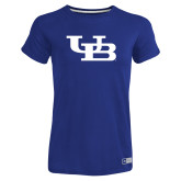 Ladies Russell Royal Essential T Shirt-Interlocking UB