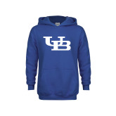 Youth Royal Fleece Hoodie-Interlocking UB