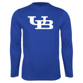 Performance Royal Longsleeve Shirt-Interlocking UB